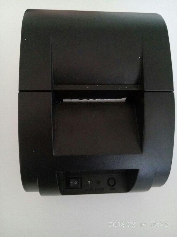 термопринтер Thermal Receipt Printer I58TP04U-BK